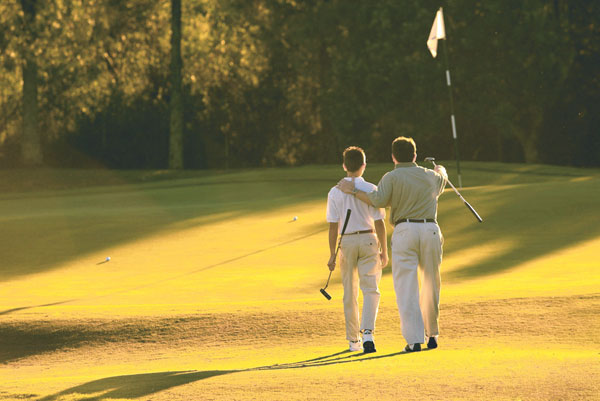 Save on a Round of Golf Fathers Day