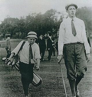 Francis Oumet and Eddie Lowery Golf