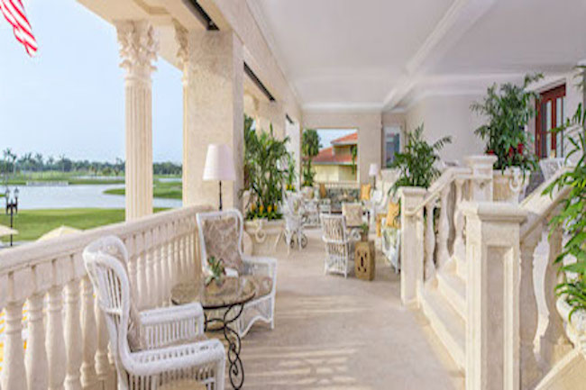 Terrace trump Doral Miami