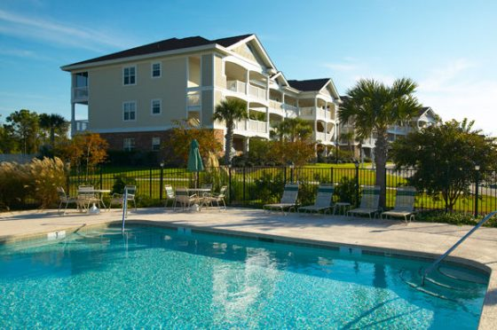 Pool Myrtle Beach Villas